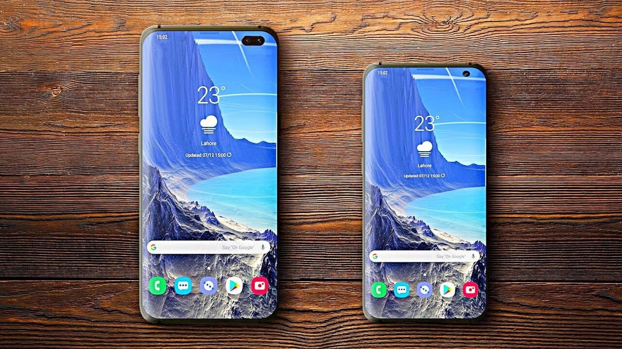 Samsung galaxy S10 Model